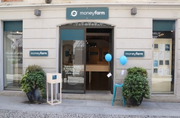 MoneyFarm pop up shop