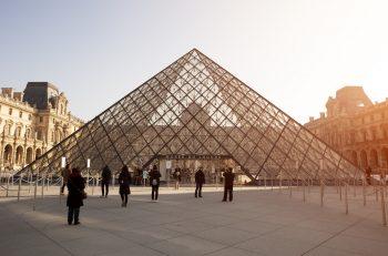 French election, Paris, Louvre, Marine Le Pen, Macron
